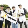 BLUE ENCOUNTの4人が福島県双葉郡広野町の清掃ボランティアにサプライズ参加!
