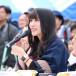 元 PASSPO☆の根岸愛がもろやま町観光大使として産業まつりに参加!
