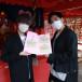ITSUKIとNARITOによるボーカルデュオall at once、 全国から集まったデジタル絵馬を日本で唯一恋愛の神様を祀る恋木神社に歌と共に奉納