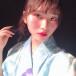 AKB48 福岡聖菜、ツイッター4周年で爽やか浴衣ショットを公開「赤らめた頬キレイです」「風情を感じます」