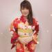 AKB48 岡部麟 、優美な赤い浴衣ショットを披露!「唯一の浴衣写真となりそうです!」