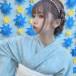 元アキシブProject・津代美月の水色浴衣姿に「可愛い!」の嵐「似合うって言ってくれたからこの色に」