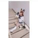 """足立梨花、自身が声優を務めた「けものフレンズ」""""リカオン""""コスプレに大反響!「破壊力抜群」「世界No.1の美貌」"""