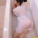 田中みか、水に濡れたシャツで浮かび上がる桃尻ショット!