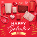 【バレンタイン】《サマンサタバサプチチョイス》キャッチ―なハートモチーフのギャレンタイン【Galentine】シリーズが登場!