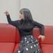 Juice=Juice 稲場愛香、黒ニット姿で躍動感ある姿を披露「ポーズがれいちゃんっぽい」