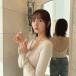 HKT48 森保まどか、背中開きのトップスを鏡越しで披露!「後ろ姿がお綺麗!」「美人過ぎて眩しいです」