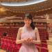 松井咲子、美麗な背中出しのドレス衣装を披露!憧れのサントリーホールで演奏