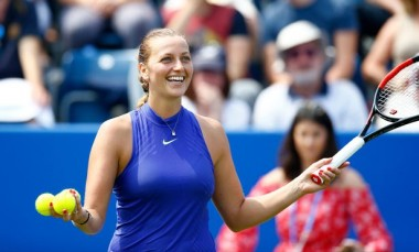 Czech-Republics-Petra-Kvitova-celebrates-victory-over-Czech-Republics-Tereza-Smitkova-in-the-first